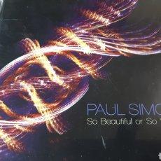 CDs de Música: PAUL SIMON SO BEAUTIFUL OR SO WHAT. Lote 222724857