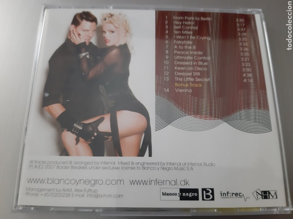 CDs de Música: INFERNAL. FROM PARIS TO BERLIN. BLANCO Y NEGRO - Foto 5 - 222742492