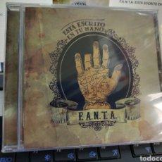 CDs de Música: F.A.N.T.A. CD ESTÁ ESCRITO EN TU MANO PRECINTADO. Lote 222762355