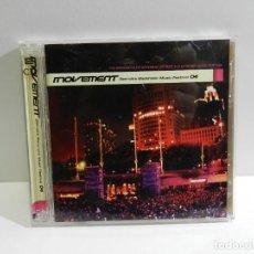 CDs de Música: DISCO CD. VARIOS - MOVEMENT. DETROIT'S ELECTRONIC MUSIC FESTIVAL 04. COMPACT DISC. DOBLE. Lote 222777543