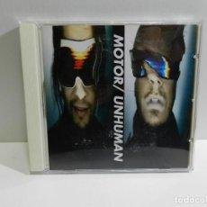CDs de Música: DISCO CD. MOTOR - UNHUMAN. COMPACT DISC.. Lote 222777900