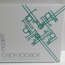 CDs de Musique: DISCO CD. ANJA SCHNEIDER - MOBILEE BACK TO BACK. COMPACT DISC.. Lote 222778970