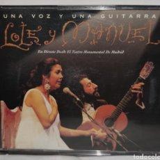 CDs de Música: CD - LOLE Y MANUEL - UNA VOZ Y UNA GUITARRA - VIRGIN RECORDS ESPAÑA, S.A. – 8409792. Lote 222779062