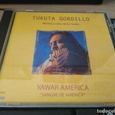 CDs de Música: TUKUTA GORDILLO -MUSICA DE LOS ANDES -CD SANGRE DE AMERICA-FOLKLORE ARGENTINO. Lote 222792692