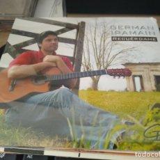 CDs de Música: GERMAN IRAMAIN - CD RECUERDAME - FOLKLORE ARGENTINO CD SELLADO. Lote 222792782