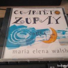 CDs de Música: CUARTETO ZUPAY CANTA A MARIA ELENA WALSH -CANCIONES PARA NIÑOS CD SELLADO IMPORTADO. Lote 222792833