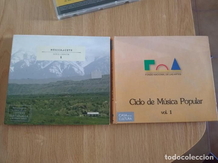 MUSICA DE CUYO -INTERPRETES VARIOS Y DE REGALO CD DOBLE CICLO MUSICA POPULAR -FOLKLORE (Música - CD's World Music)