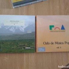 CDs de Música: MUSICA DE CUYO -INTERPRETES VARIOS Y DE REGALO CD DOBLE CICLO MUSICA POPULAR -FOLKLORE. Lote 222795707
