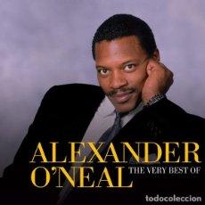 CDs de Música: ALEXANDER O'NEAL – THE VERY BEST OF ALEXANDER O'NEAL - 2 CDS - OFERTA 3X2 - NUEVO Y PRECINTADO. Lote 222806981
