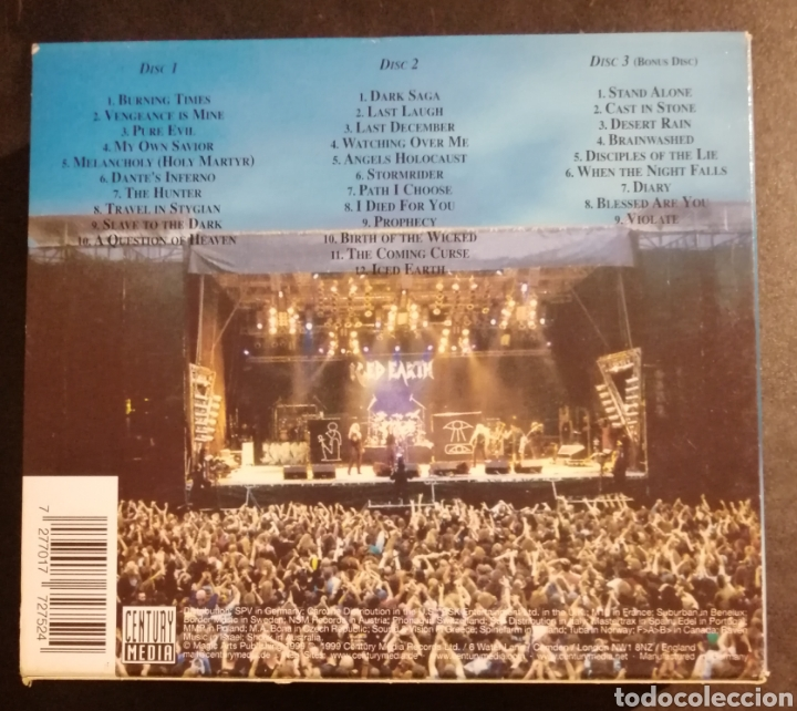 CDs de Música: Iced Earth - Alive in Athens - Foto 2 - 222815818