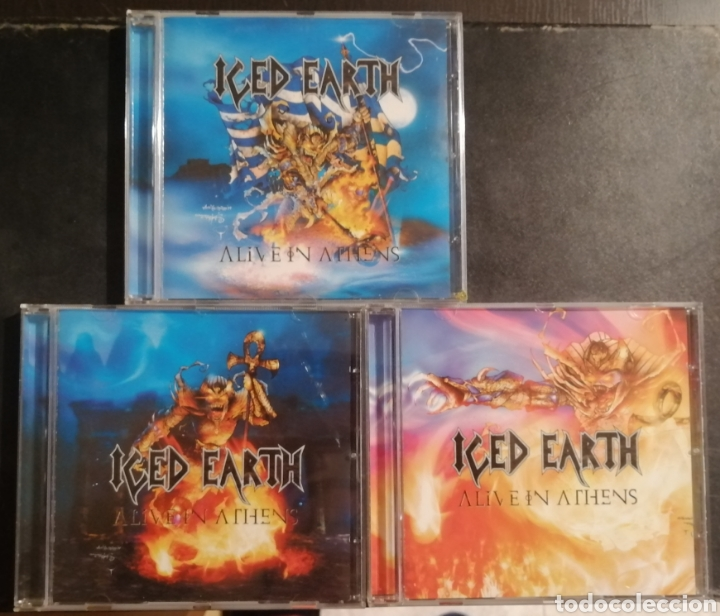CDs de Música: Iced Earth - Alive in Athens - Foto 3 - 222815818