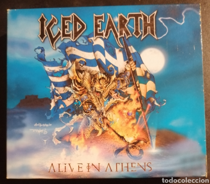 ICED EARTH - ALIVE IN ATHENS (Música - CD's Heavy Metal)