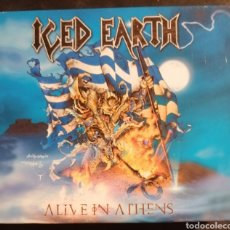 CDs de Música: ICED EARTH - ALIVE IN ATHENS. Lote 222815818