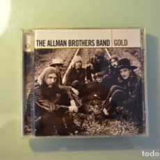 CDs de Música: THE ALLMAN BROTHERS BAND- GOLD (2 CD) 2005. Lote 222833941