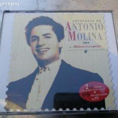 CDs de Música: ANTOLOGÍA DE ANTONIO MOLINA. 80 ANIVERSARIO 2CD CON SUS MEJORES CANCIONES+DVD CON ACTUACIONES DE TV. Lote 222853582