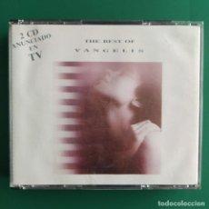 CDs de Música: VANGELIS - THE BEST OF VANGELIS (2XCD, COMP) (POLYDOR) 847 746-2. Lote 222870198