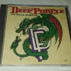 CDs de Música: CD DEEP PURPLE - THE BATTLE RAGES ON. Lote 222872607