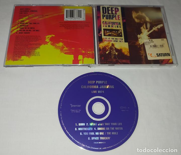 CDs de Música: CD DEEP PURPLE - CALIFORNIA JAMMING - Foto 2 - 222872826