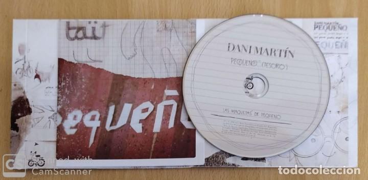 CDs de Música: DANI MARTIN (PEQUEÑO TESORO - LAS MAQUETAS DE PEQUEÑO) CD 2010 - Foto 3 - 222901060