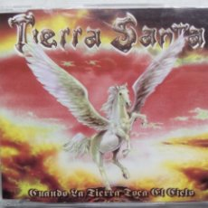 CDs de Música: TIERRA SANTA. CUANDO LA TIERRA TOCA EL CIELO. CD SINGLE LOCOMOTIVE LM-070-VCD. ESPAÑA 2001.. Lote 222902211