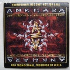 CDs de Música: ANKHARA. ANKHARA II. CD PROMOCIONAL LOCOMOTIVE LM 066 CD. ESPAÑA 2001.. Lote 222906740