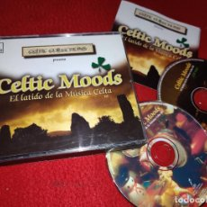 CDs de Música: CELTIC MOODS EL LATIDO DE LA MUSICA CELTA III 2CD 1998 DRO GERMANY. Lote 222917878