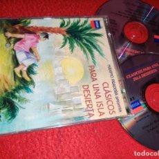 CDs de Música: MAXIMO PRADERA PRESENTA CLASICOS PARA UNA ISLA DESIERTA 2CD 2000 DECCA ESPAÑA 29 CANCIONES. Lote 222919413