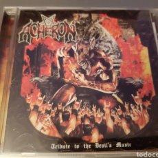 CDs de Música: DIFICIL!! ACHERON. TRIBUTE TO THE DEVIL'S MUSIC. BLR CD048. 2003. L2. Lote 222924730