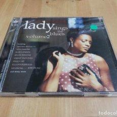 CDs de Música: LADY SINGS THE BLUES VOLUME 2 (ARETHA FRANKLIN / NINA SIMONE / JULIE LONDON / BILLIE HOLIDAY) 2 CD. Lote 222942935