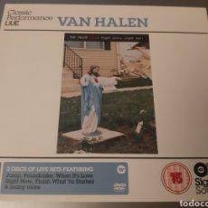CDs de Música: DIFICIL! CLASSIC PERFORMANCE LIVE. VAN HALEN. RIGHT HERE, RIGHT NOW. 1 CD + 1 DVD. UK. L2. Lote 222950677