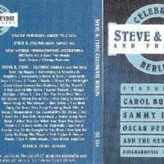 CDs de Música: STEVE & EYDIE AND FRIENDS - CELEBRATE BERLIN - STEVE LAWRENCE Y EYDIE GORME. Lote 222950726