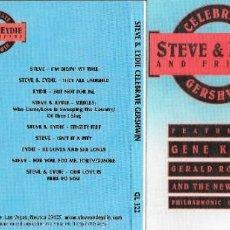 CDs de Música: STEVE & EYDIE AND FRIENDS - CELEBRATE GERSHWIN - STEVE LAWRENCE Y EYDIE GORME. Lote 222950750