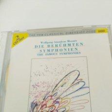 CDs de Música: CD J.S BACH. FAMOSAS SINFONIAS (Nº 35, 41, 38,40). 2 CDS. Lote 222972186