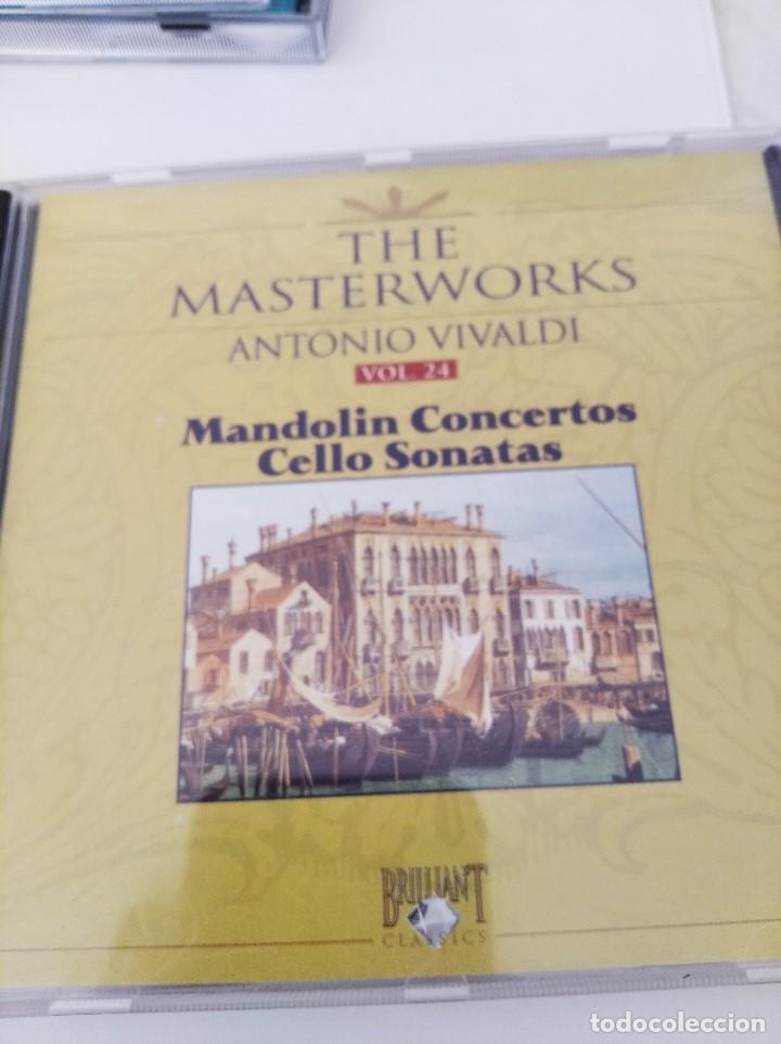 CD VIVALDI. COCIERTOS DE MANDOLINA/SONATAS DE CELLO (Música - CD's Clásica, Ópera, Zarzuela y Marchas)