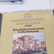 CDs de Música: CD VIVALDI. COCIERTOS DE MANDOLINA/SONATAS DE CELLO. Lote 222980282