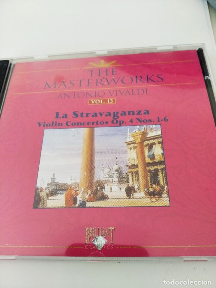 CD VIVALDI. LA STRAVAGANZA. CONCIERTOS DE VIOLIN OPUS 4 NUMEROS 1-6 (Música - CD's Clásica, Ópera, Zarzuela y Marchas)