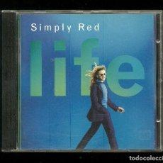 CDs de Música: SIMPLY RED - LIFE - EASTWEST CD 1995. Lote 222993858
