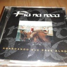 CDs de Música: FIA NA ROCA - CD AGARDANDO QUE PASE ALGO - FOLK CELTA. Lote 223016822