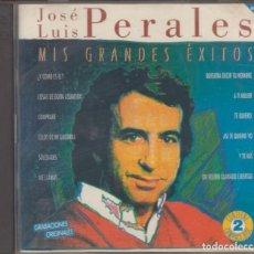 CDs de Musique: JOSÉ LUIS PERALES DOBLE CD MIS GRANDES ÉXITOS 1994 HISPAVOX. Lote 223024736