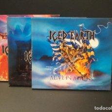 CDs de Música: ICED EARTH - ALIVE IN ATHENS TRIPLE CD DIGIPACK PEPETO. Lote 223040125