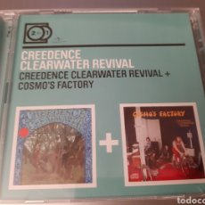 CD di Musica: CREEDENCE CLEARWATER REVIVAL. 2 FOR 1. CREEDENCE CLEARWATER...+ COSMO'S FACTORY. 2011. L2. Lote 223047577