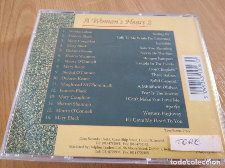CDs de Música: THE WOMANS HEART VOL 2-MUSICA CELTA IRLANDA - Foto 2 - 223097851