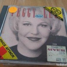 CDs de Música: PEGGY LEE CD THE BEST OF. Lote 223099933