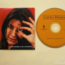 CD de Música: LAURA PAUSINI / ESCUCHA A TU CORAZÓN / CD SINGLE. Lote 223197263