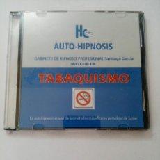 CDs de Música: CD AUTO-HIPNOSIS TABAQUISMO - GABINETE DE HIPNOSIS PROFESIONAL SANTIAGO GARCÍA (NUEVO). Lote 223221240