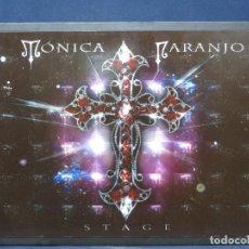 CDs de Música: MONICA NARANJO - STAGE - CD + DVD EDICION ESPECIAL FORMATO LIBRO. Lote 223265731