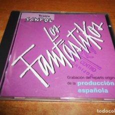 CDs de Música: LOS FANTASTIKOS TEATRO SANPOL BANDA SONORA DEL MUSICAL TOM JONES CD ALBUM 1997 16 TEMAS. Lote 223268986