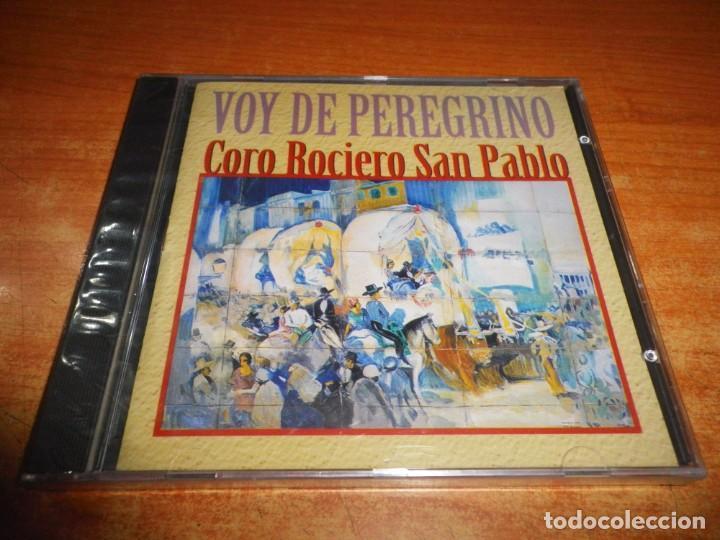 CORO ROCIERO DE SAN PABLO VOY DE PEREGRINO CD ALBUM PRECINTADO 1997 CONTIENE 8 TEMAS (Música - CD's Flamenco, Canción española y Cuplé)