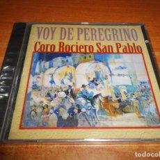 CDs de Música: CORO ROCIERO DE SAN PABLO VOY DE PEREGRINO CD ALBUM PRECINTADO 1997 CONTIENE 8 TEMAS. Lote 223269447