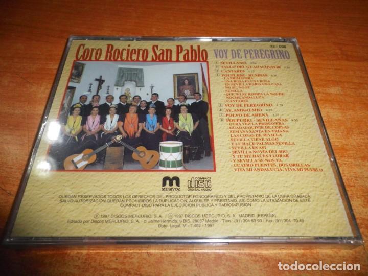 CDs de Música: CORO ROCIERO DE SAN PABLO Voy de peregrino CD ALBUM PRECINTADO 1997 CONTIENE 8 TEMAS - Foto 2 - 223269447